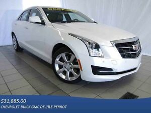 2015 Cadillac ATS Sedan LUXURY TURBO, AWD, TOIT OUVRANT