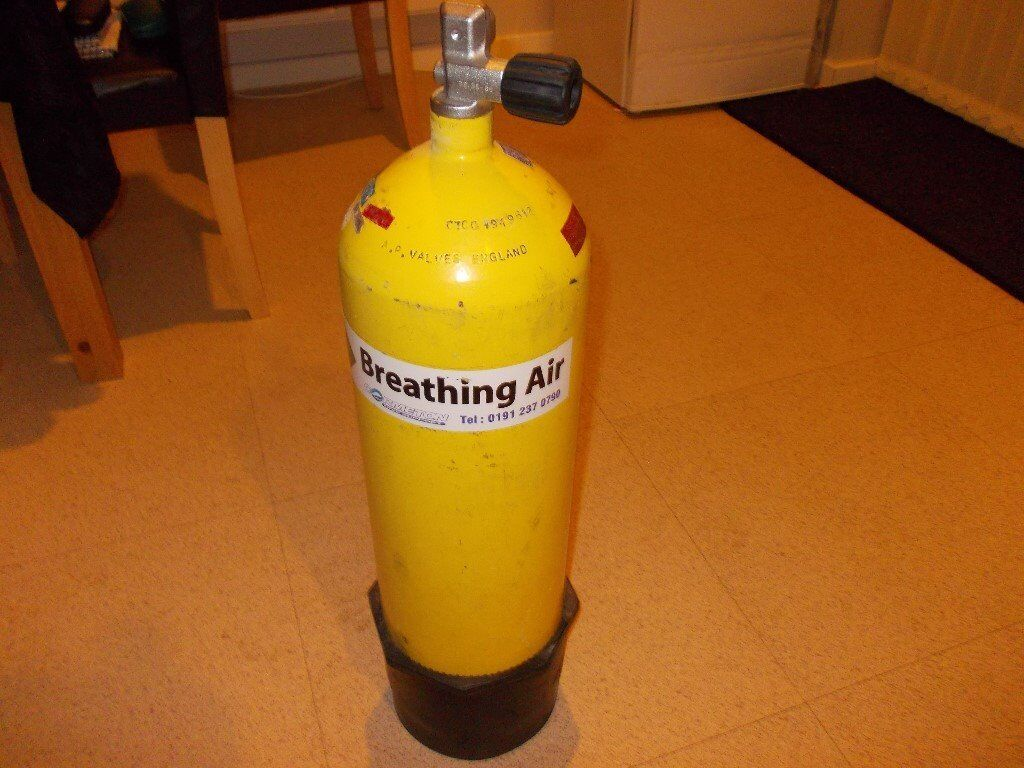 12 Ltr Scuba Diving Air Tank Cylinder tested