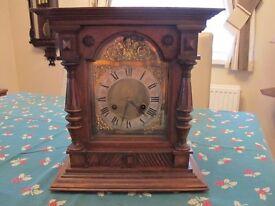 19th century quarter chiming Bracket Clock