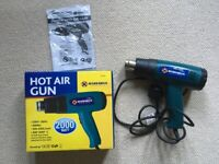 New 230v Quality Tool 2000w Hot Air Gun Variable Temperature Control 300c-600c