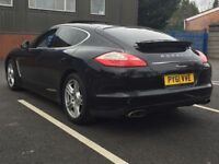 2011 PORSCHE PANAMERA 3.0 TD V6 * FULL PORSCHE HISTORY * NAV * LEATHER * SUNROOF * PART EX * FINANCE