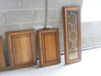 10 solid french oak kitchen doors