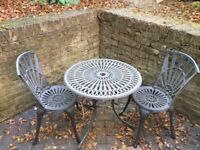 Great Garden Table and Chairs For Sale