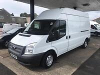 2014 Ford Transit T300 LWB High Roof. LOW MILEAGE.