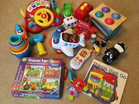 Assorted Box of Toys