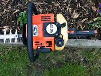 Stihl HS 72 petrol hedge trimmer. Great condition
