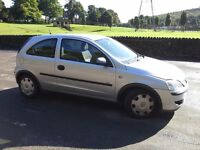 Vauxhall Corsa Life 1.2 16v 3 Door ★ Silver★P/X TO CLEAR★NO OFFERS★LOW MILEAGE★