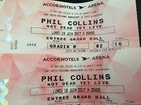 Phil Collins tickets Paris / 19/6