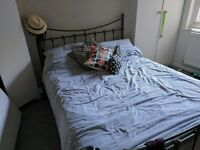 FREE olive green metal bed