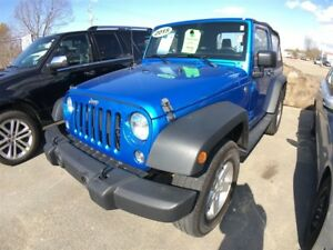 2015 Jeep Wrangler Sport - Low kms - Converible - Cruise Control