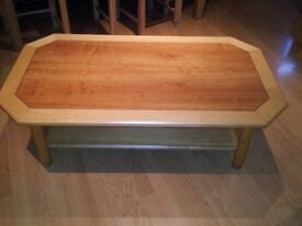 Art Deco styled coffee table