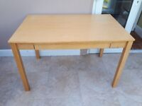 Desk, with drawer. Good condition