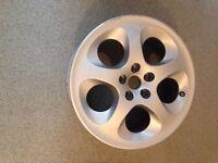 Alloy Wheel From an Alpha Romeo 147 Car Rim Wheel