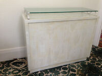 Dimplex 2.25kw Electric Storage Heater with Surround & Glass top