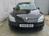 59 Reg Renault Megane 1.6 VVT Expression 5dr/New Shape/Full history HPI CLEAR