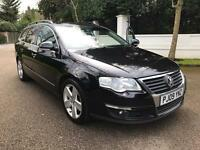 VOLKSWAGEN PASSAT SPORT TDI DSG ESTATE 2009 AUTO LONG MOT FULLY LOADED 1 OWNER