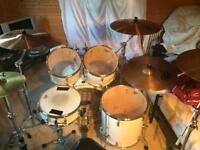 Sonor drum kit in immac condition.