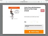 Cycle tone exercise bike and toning system