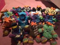 Collection of where's boo soft toy