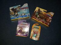 New Skylanders Superchargers Figures (Plus Rare Limited Edition Spingtime Trigger Happy)