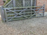 12 ft 5 Bar Field/Farm style gate. Used but good condition