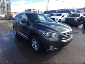 2014 Infiniti QX60 / NAV / B/U CAM / S/ROOF / LEATHER / 7 PASS.