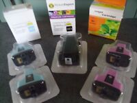 8 New HP 363 Inkjet Cartridges