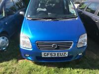 2003 SUZUKI WAGON R 1.3 70000 MILES VERY GOOD CONDITION DRIVES PERFECT ONE YEAR MOT
