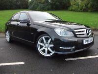 Mercedes-Benz C Class 2.1 C220 CDI BlueEFFICIENCY AMG Sport 7G-Tronic Plus 4dr (Map Pilot)