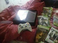 Xbox 360 slim e go 22 games