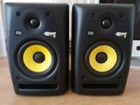 KRK Rokit 5 studio monitors/speakers
