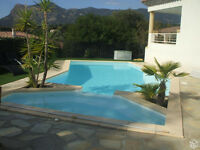 Villa 2 bedroom pool access near Ajaccio