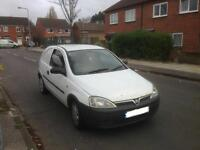 2004 VAUXHALL CORSA VAN 1.7 DIESEL TAX AND MOT £375 ONO