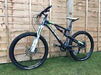 Boardman team FS full suspension Enduro/Downhill bike, LIKE NEW, HIGH SPEC, AVID