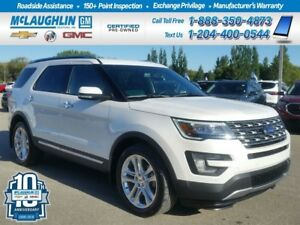 2017 Ford Explorer *Rem St *Htd Lthr *Back Up *Bluetooth *CD *4W