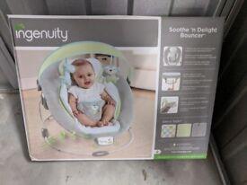Ingenuity baby bouncer brand new
