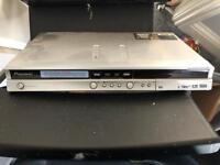 Pioneer dvd recorder with manual and remote