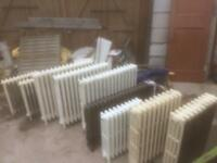Cast iron column radiators