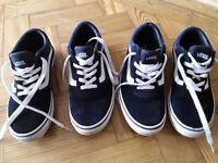 Junior VANS in sizes UK 5 & UK 6 - £10 per pair. CASH on collection.
