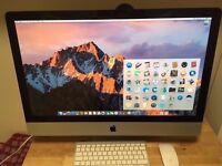 "Apple 27"" iMac i5 2.7ghz quad core CPU, 16GB ram, 1TB hard drive, Radeon 6770 graphics"