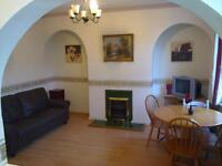 holbeck 2 bed house fully furnished double glazing, gas c heating pleasant place ls11 9nx £ 440