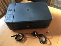 Canon MG3250 - Great Condition, hardly used and comes with box and paperwork/manual