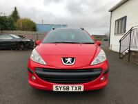 Peugeot 207sw 1.6hdi with recondition turbo