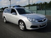 2006 VECTRA DIESEL ESTATE AUTOMATIC - 2 OWNERS - HIGH MILEAGE BUT DRIVES GOOD