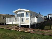 Front Row Sea View Brand New Willerby Aspen Fully Decked Haven Berwick TD15 1NE