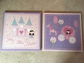"NEXT ''Pretty Little Princess"" canvas prints"