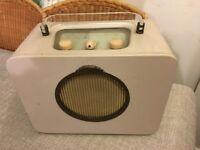 EVER READY SKY QUEEN VINTAGE 1950s PORTABLE RADIO