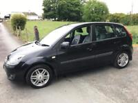 FORD FIESTA 1.4 GHIA 2006 ***MOT FEBRUARY 2018*** LEATHER SEATS***