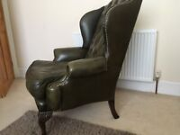 Chesterfield Queen Anne chairs