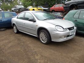 Chrysler Neon BREAKING FOR SPARES PARTS